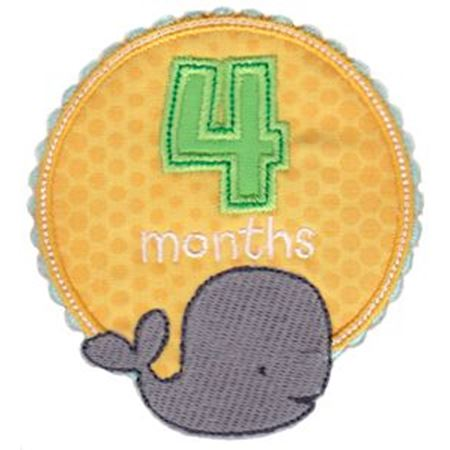 Baby Months Applique 4
