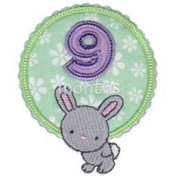 Baby Months Applique 9