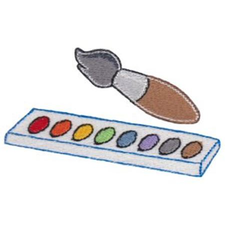 Paint Brush and Pallet