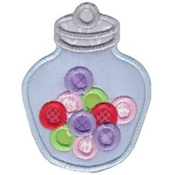 Candy Jar Applique
