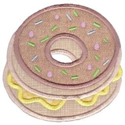 Donut Applique
