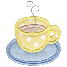 Cup of Tea Applique