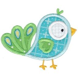 Birds N Bugs Applique 1