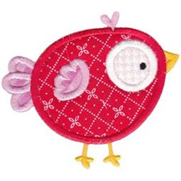 Birds N Bugs Applique 11