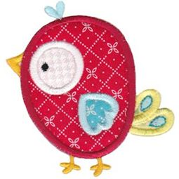 Birds N Bugs Applique 3