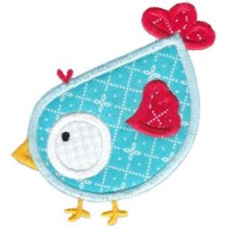 Birds N Bugs Applique 9