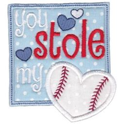 You Stole My Heart Baseball