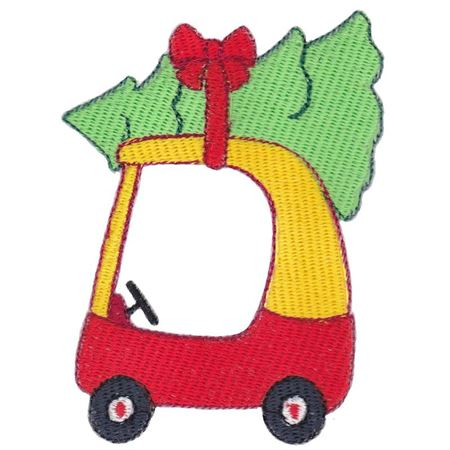 Cozy Coupe Car Filled Stitch