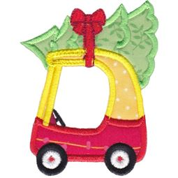 Cozy Coupe Car Applique