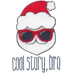 Santa Cool Story Bro Filled Stitch