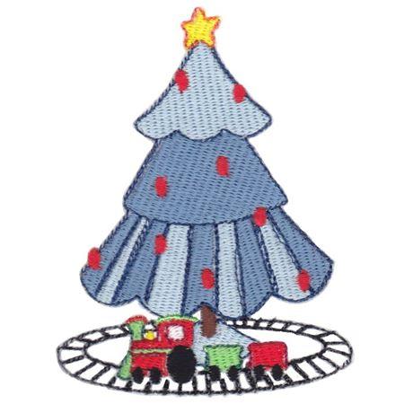 Boys Christmas Tree Filled Stitch