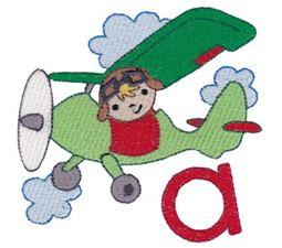 Boys Alphabet A