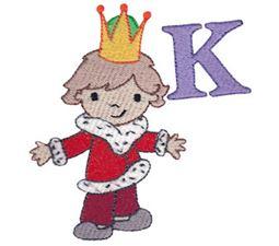 Boys Alphabet K