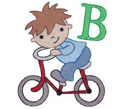 Boys Alphabet B