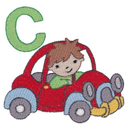 Boys Alphabet C