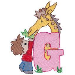 Boys Alphabet G