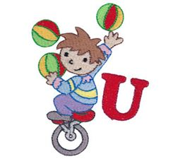 Boys Alphabet U
