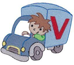 Boys Alphabet V