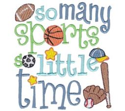 So Many Sports So Little Time