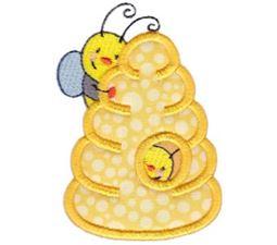 Busy Bees Applique 2