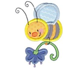 Busy Bees Applique 6