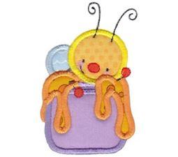 Busy Bees Applique 8
