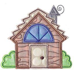 Cabin Applique