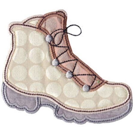 Hiking Boot Applique