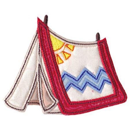 Indian Tent Applique