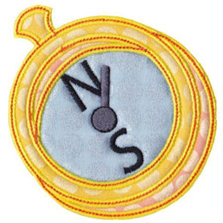 Compass Applique