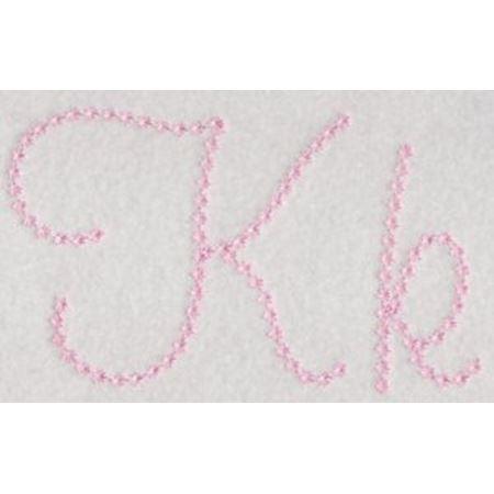 Candlewicking Alphabet K