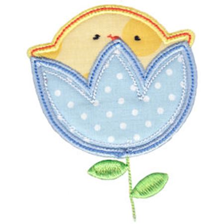Chickadee Applique 3