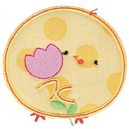 Chickadee Applique 6