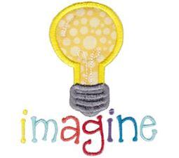Image Light Bulb Applique