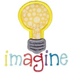 Image Light Bulb Applique