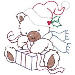 Christmas Bears Vintage Stitch 2