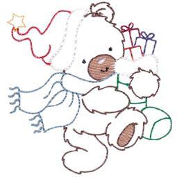 Christmas Bears Vintage Stitch 3