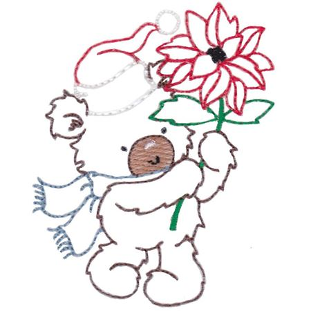 Christmas Bears Vintage Stitch 4