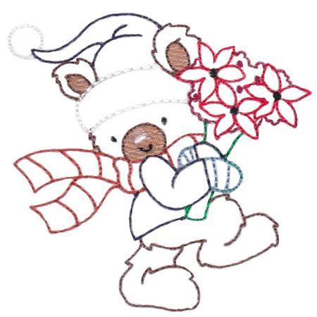 Christmas Bears Vintage Stitch 5