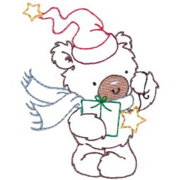 Christmas Bears Vintage Stitch 9