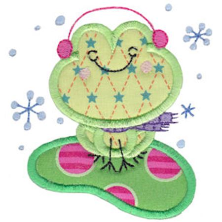 Christmas Critters Applique 7