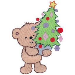 Christmas Cuddle Bear 17