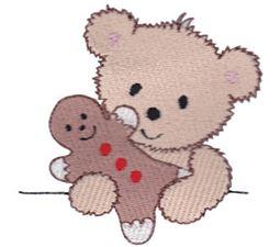 Christmas Cuddle Bear 4