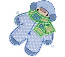 Christmas Melody Applique 16