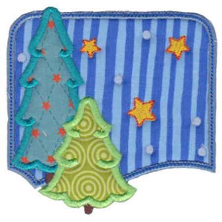 Christmas Melody Applique 19