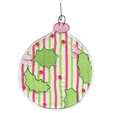 Christmas Ornaments Applique 1
