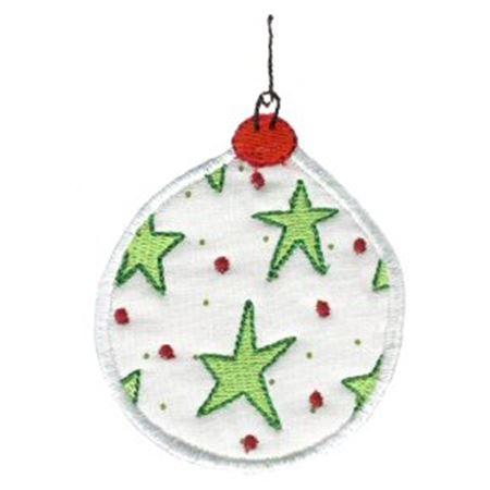 Christmas Ornaments Applique 2