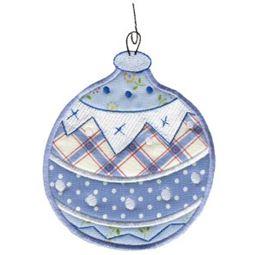 Christmas Ornaments Applique 4