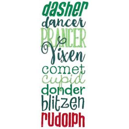 List of Reindeer Names