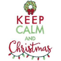 Keep Calm And Christmas